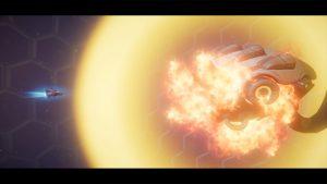 Rigid Force Alpha shot - explosion effect